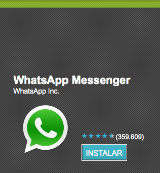 WhatsApp Messenger para Android