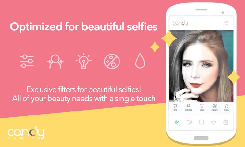 descargar Candy Camera - Selfie Selfies
