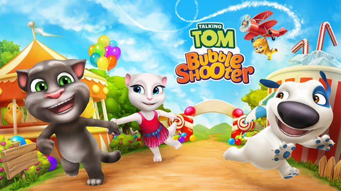Descargar Talking Tom Bubble Shooter